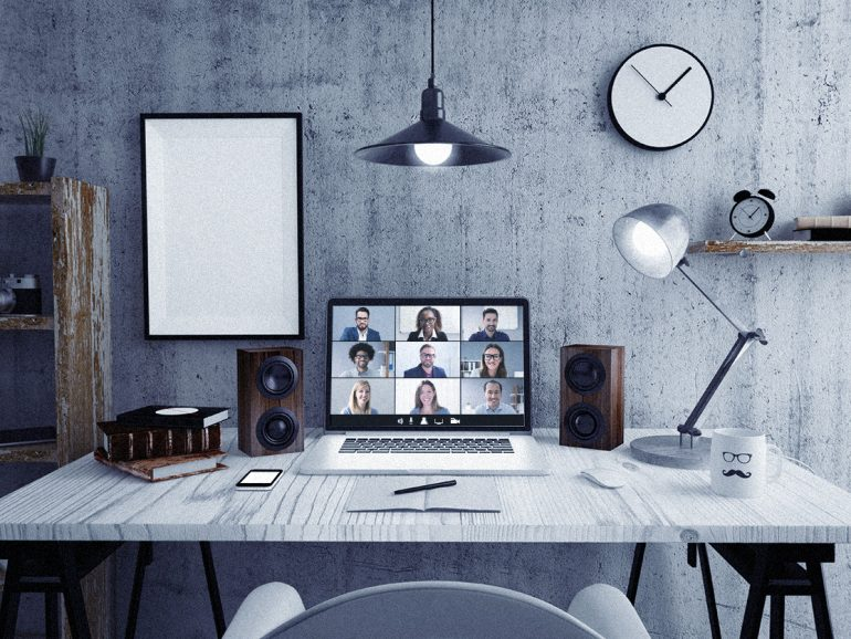 How to have presentations from home